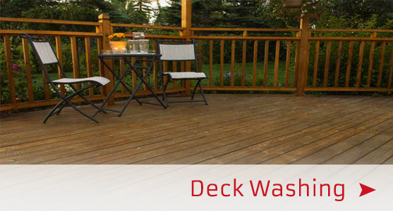 deck washing services