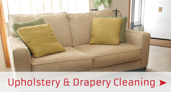 upholstery and drapery cleaning